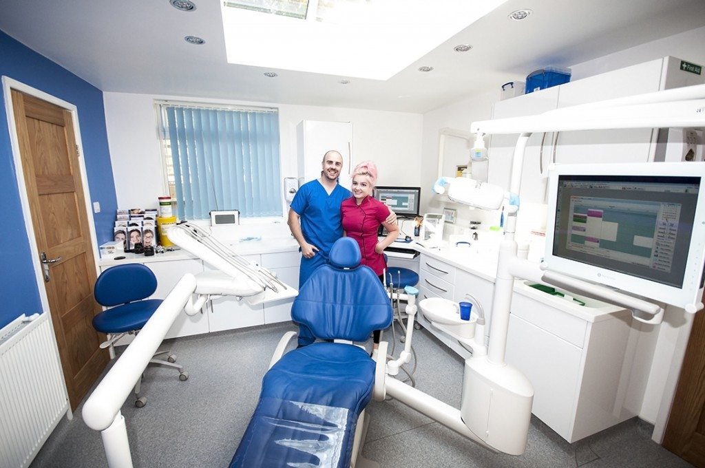 Beautiful Clinic at the Smiles Centre Swindon With Mark Truman and Poppy Aldrich