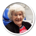 Molly Secret had her denture repair in Smiles Centre