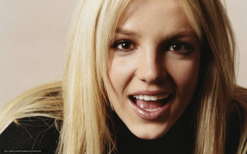 Britney Spears  Celebrities Smile