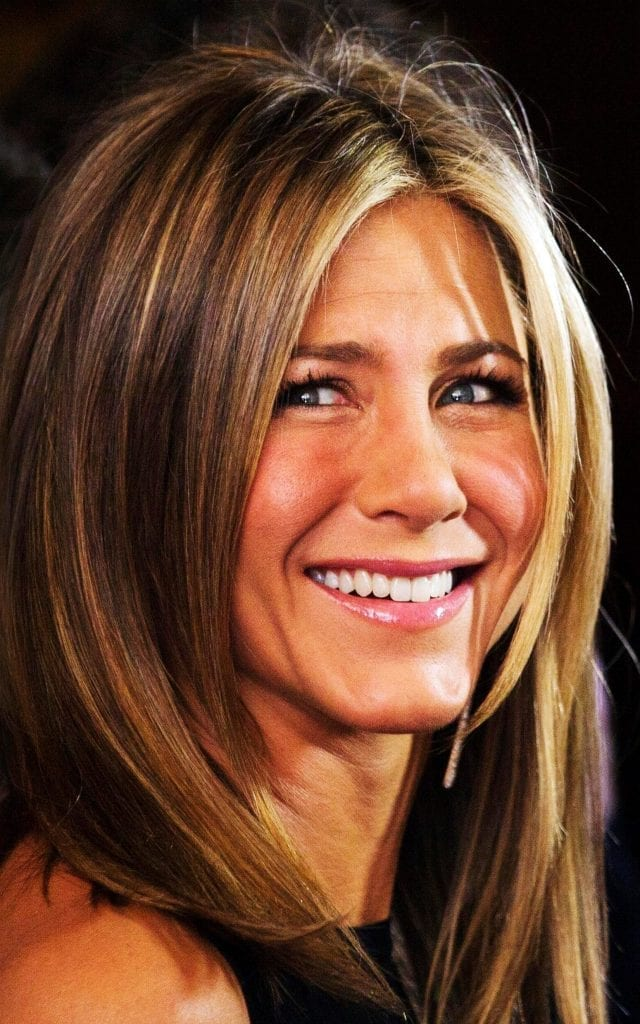Jennifer Aniston  Celebrities Smile