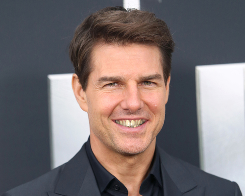 Tom Cruise  Celebrities Smile